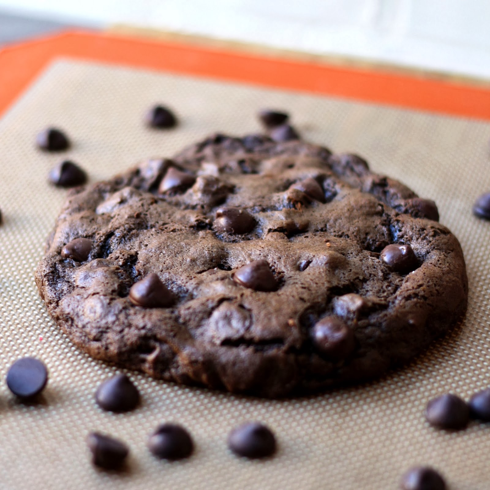 Chocolate Therapy: XXL Death By Chocolate Cookie