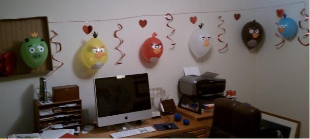Utiliza las plantillas para decorar tus globos de Angry_Birds_Balloon ...