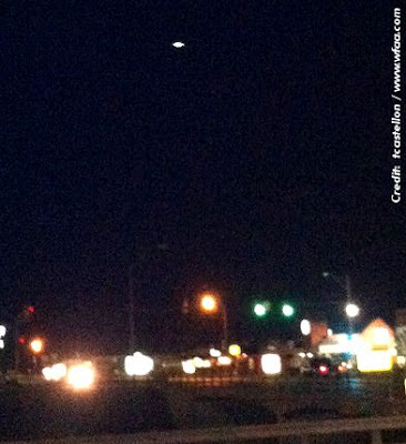 UFO Over Euless, Texas 5-22-13