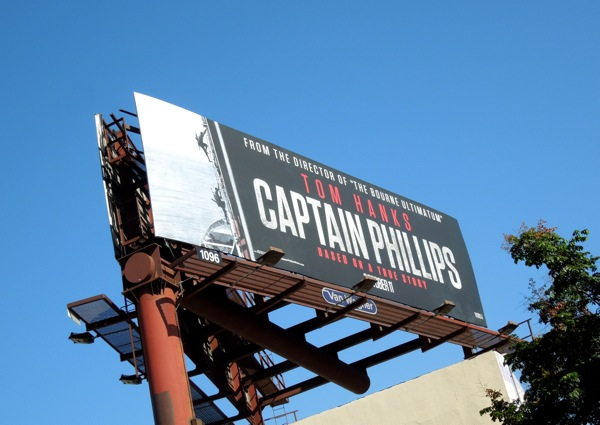 Captain Phillips movie billboard