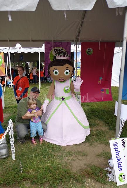 National Book Festival 2013 PBS Kids Princess Presto
