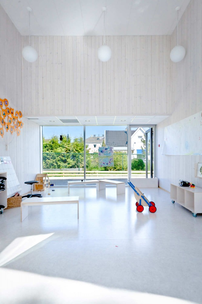 Modern Day Care Center Architectural Design Inspired from The ...