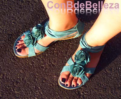 Calzado verano colorido