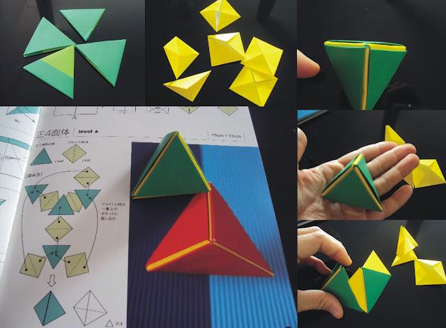 origami triangulo