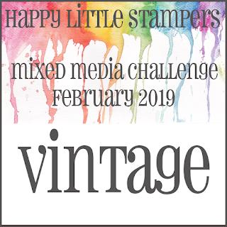 +++HLS February Mixed Media Challenge