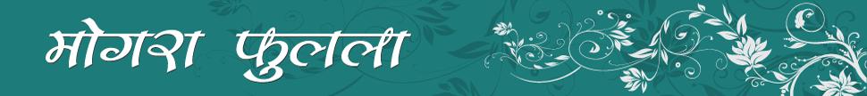 ब्लॉग - मोगरा फुलला