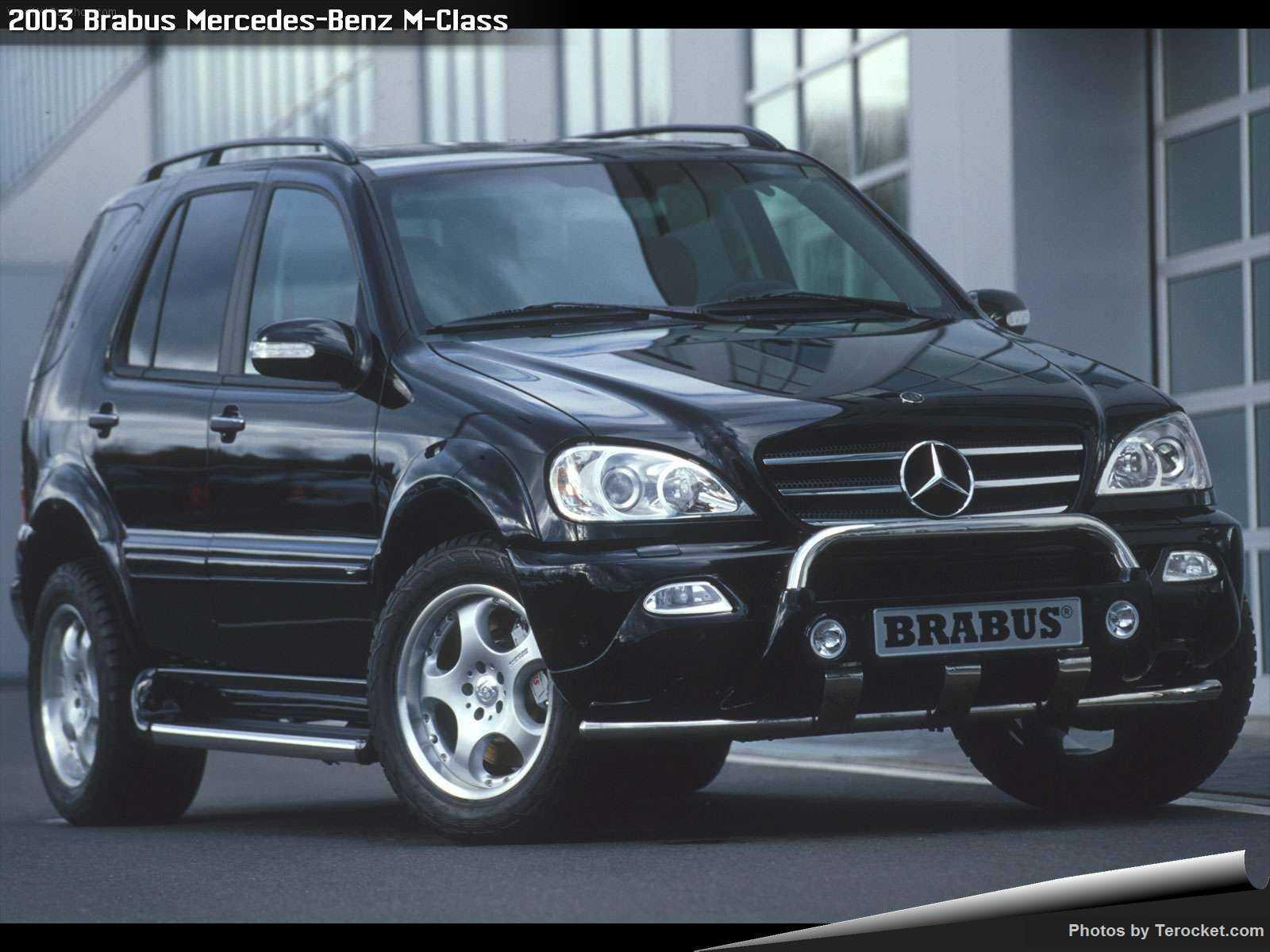Hình ảnh xe ô tô Brabus Mercedes-Benz M-Class 2003 & nội ngoại thất