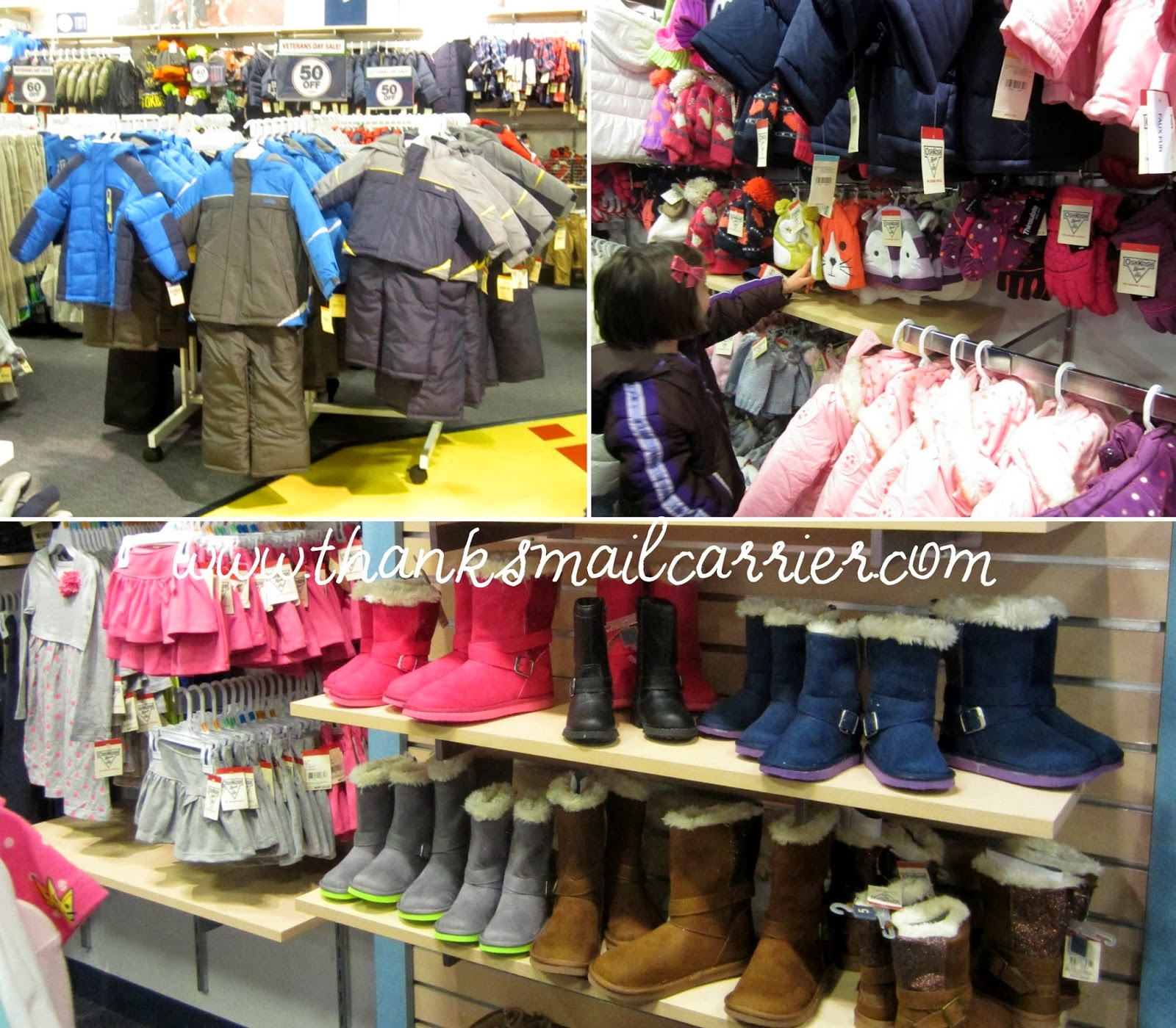 kids winter clothing