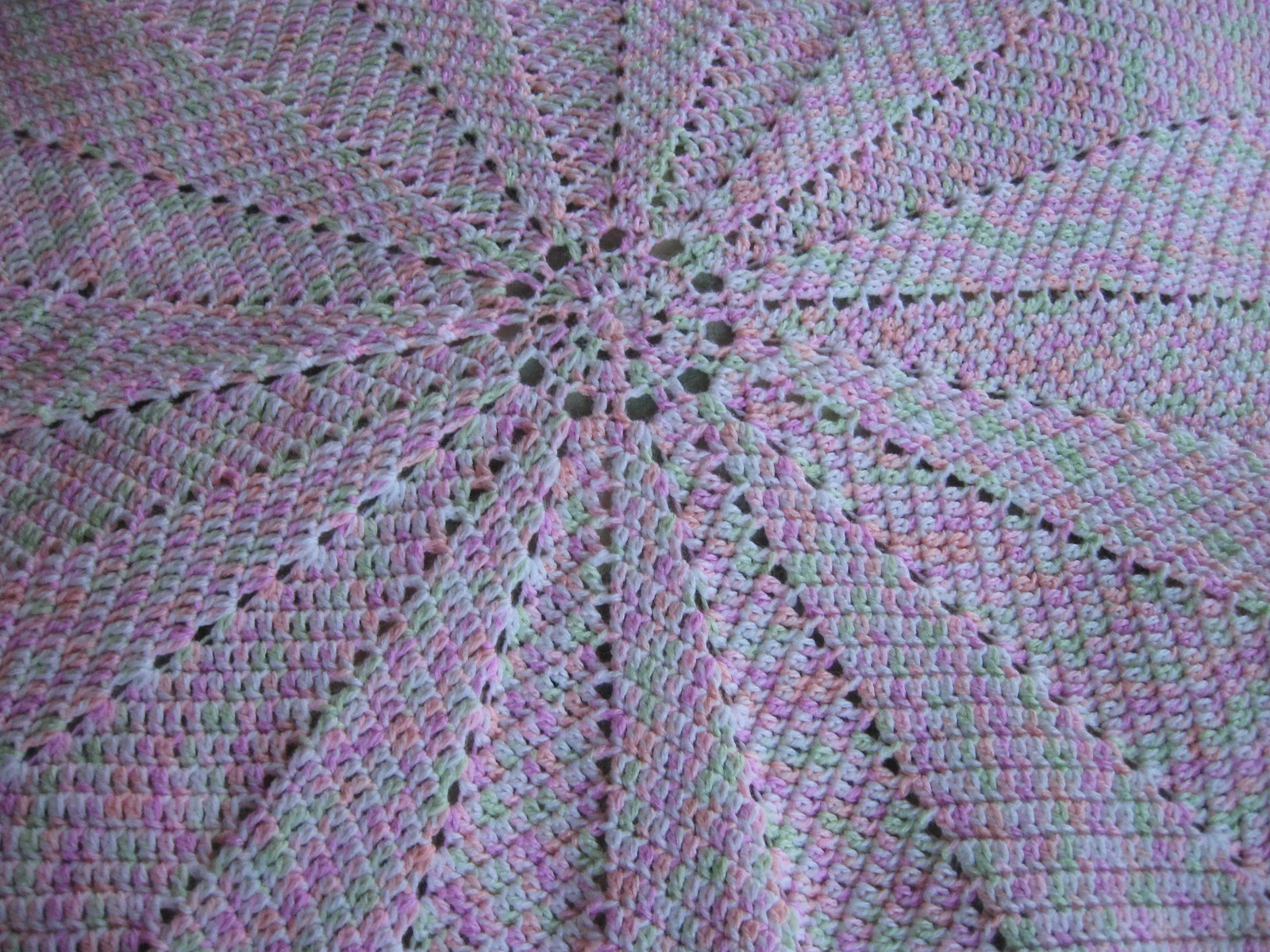 Colorful Variegated Baby Blanket Crochet Pattern Ideas - Easy Scarf ...