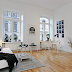 A Swedish apartment in monochrome