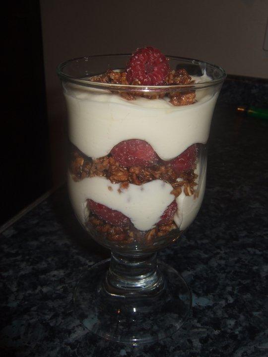 Slimming World Recipes White Chocolate And Raspberry Dessert
