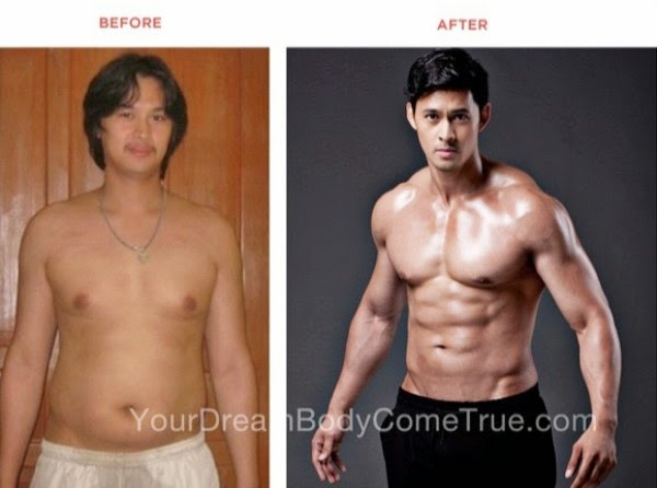 Who would have thought? Edward Mendez, before and after photo