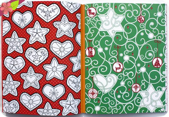 Colorie les motifs de Noël - Usborne