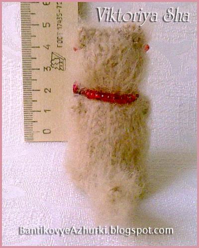 Киса-амигуруми Матильда связанная спицами