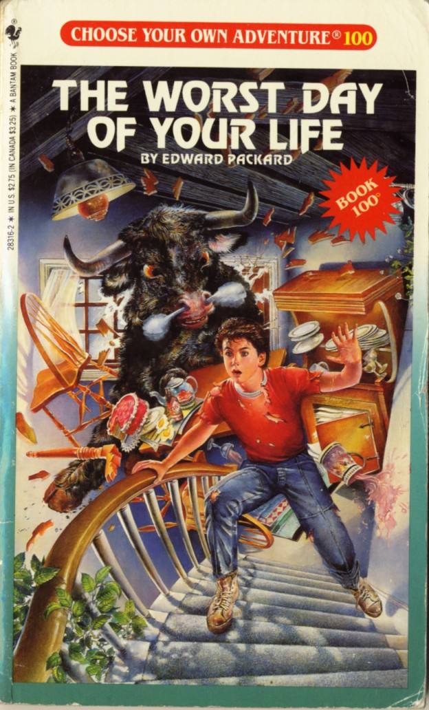 Paperback hero choose your own adventure 100 the worst for Choose your own home