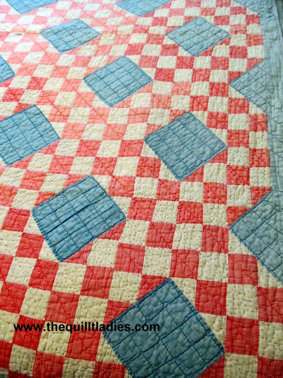 How I washed an old quilt