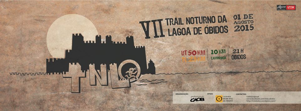 Trail Noturno Lagoa de óbidos, 1 de Agosto de 2015