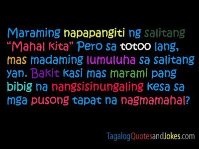 Mahal Kita Tagalog Love Quotes. QuotesGram