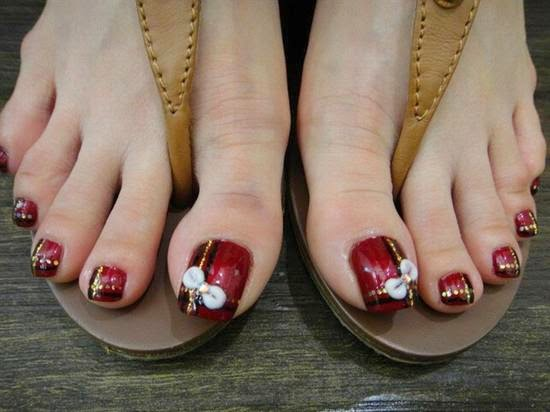 Nail Art Design 2014 Toe Nail Art Designs Step By Step