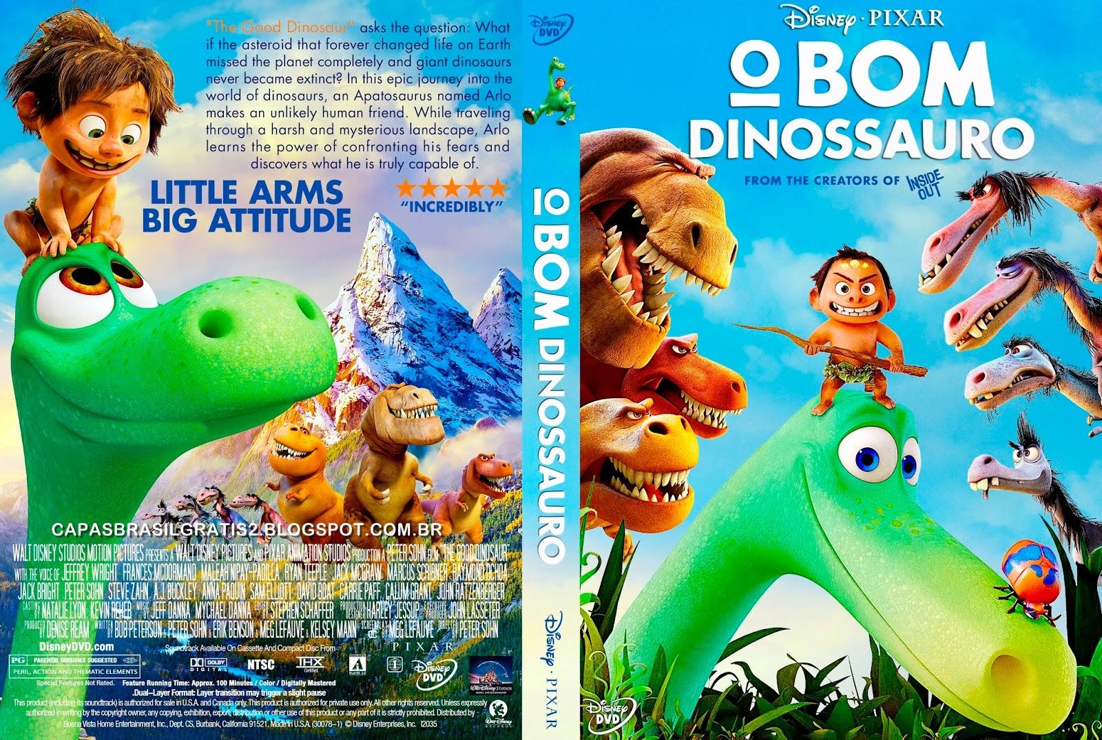 O Bom Dinossauro BluRay 720p Dual Audio O Bom Dinossauro 2016 Capa 2