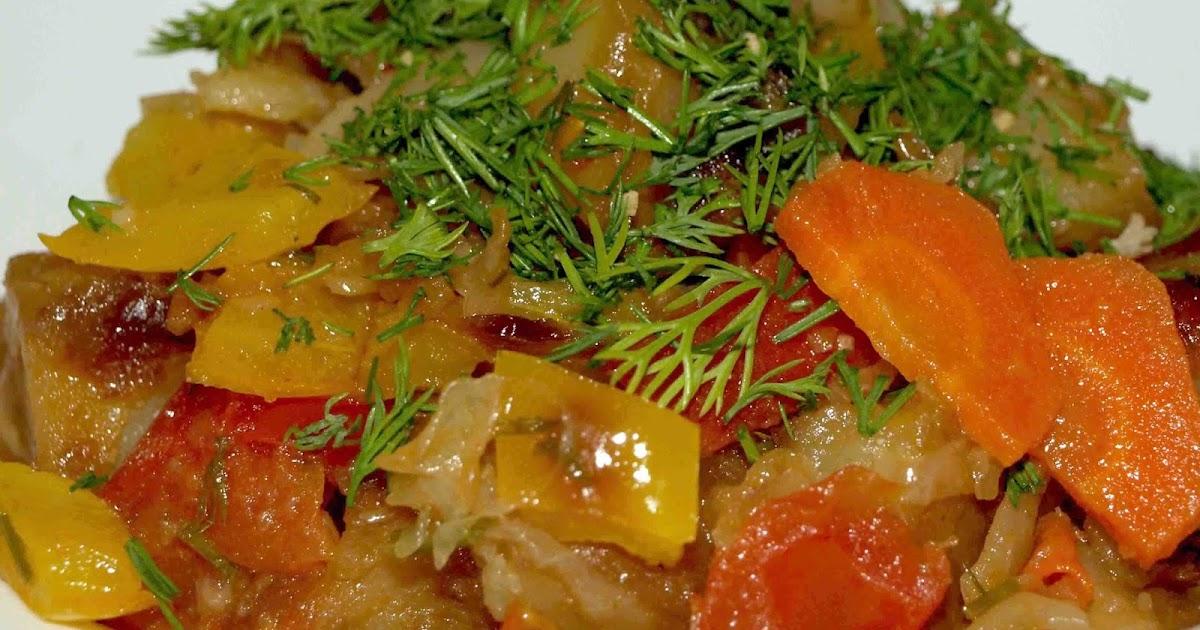 картошка баклажаны капуста