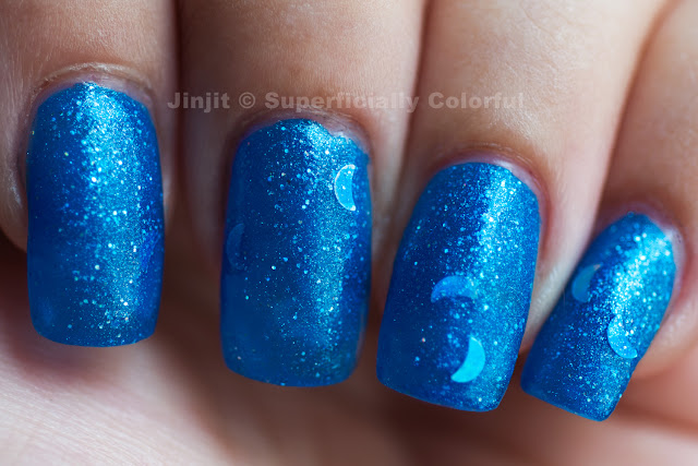 Ninja Polish - Howling Blue Moon