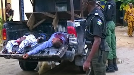 robbers killed police ecobank
