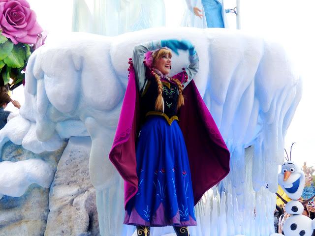 Anna la reine des neiges
