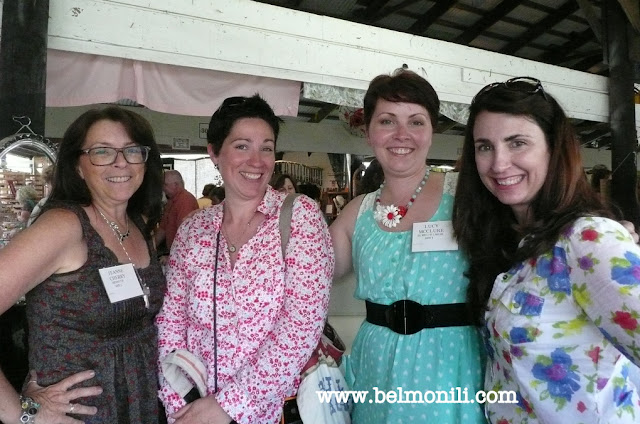 country living fair, junxtaposition, brita with a b, bel monili, eclectically vintage