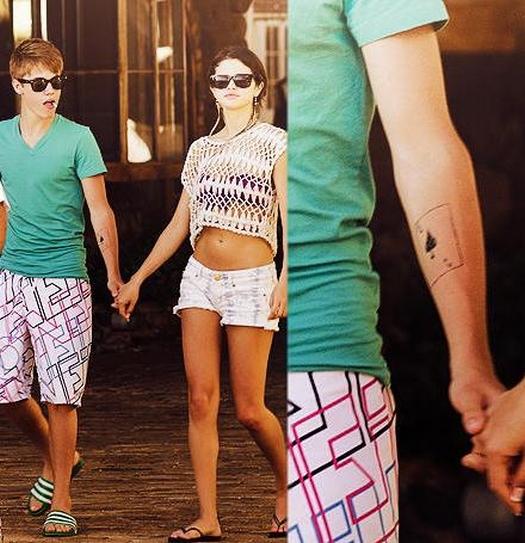 Justin Bieber Tattoo On Arm