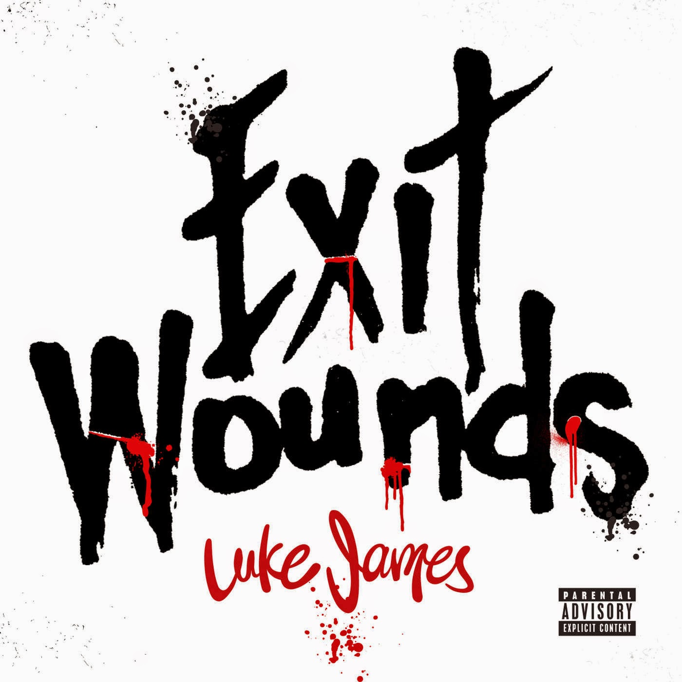 Luke James - Exit Wounds - Single Cover