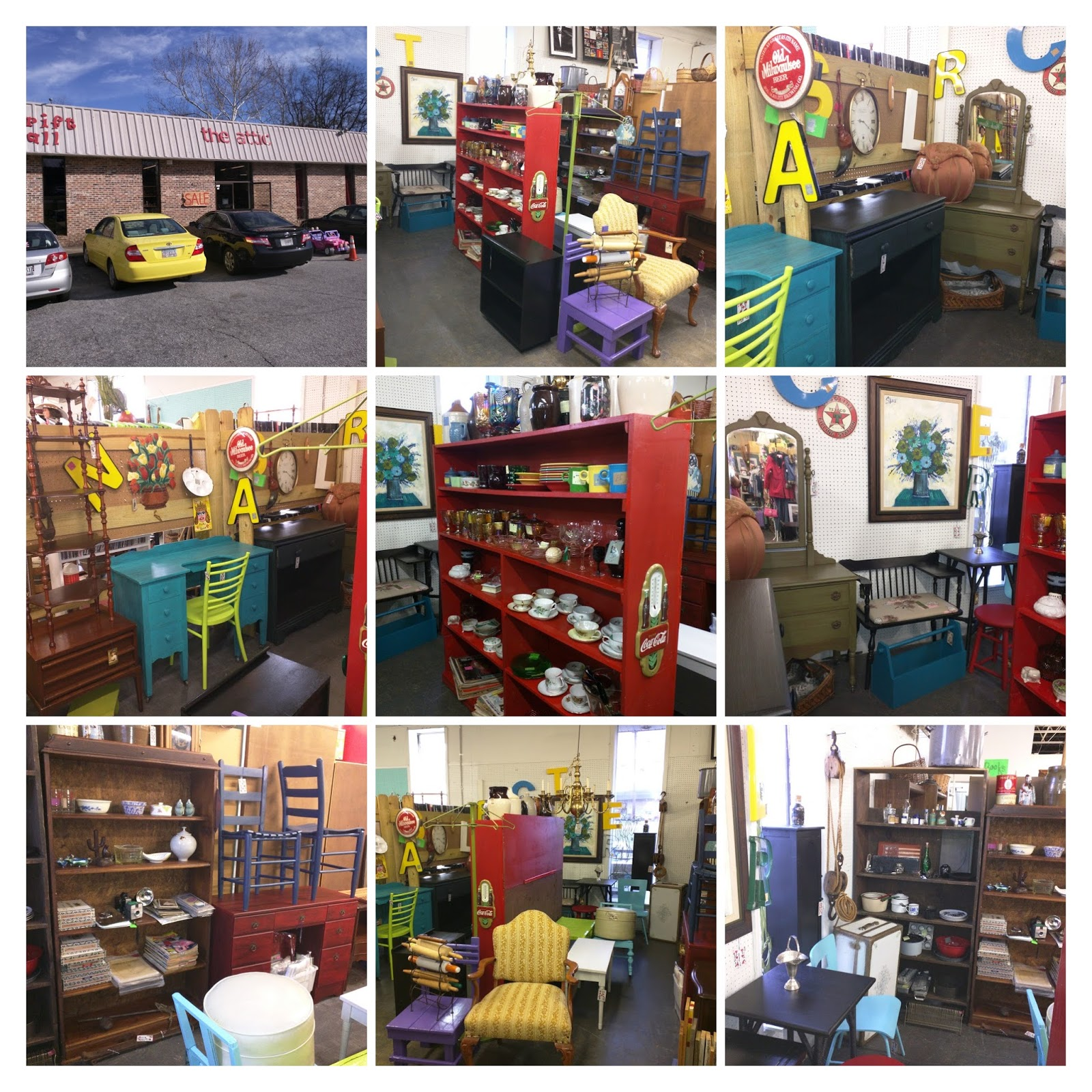 Labels: Antique Mall, Columbus Ga, Consignment, Estate, Ginas Junk, Resale,  The Attic, Thrift Mall, Used Furniture