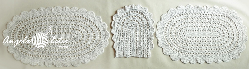 Angela Ester Croche Jogo de banheiro simples -> Croche Banheiro Simples