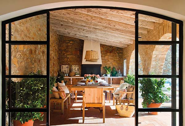 Village house design images