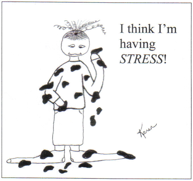 Cocwf think i 39 m having stress let go and let god - I am in stress ...