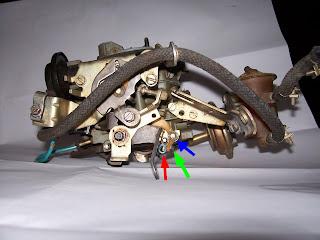 Acionamento Mecânico do Segundo estágio do carburador 2E7 Came