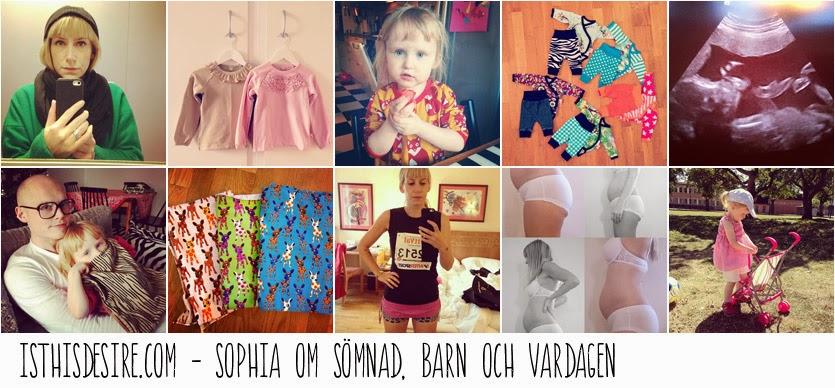 isthisdesire.com - Sophia om sömnad, barn och vardagen