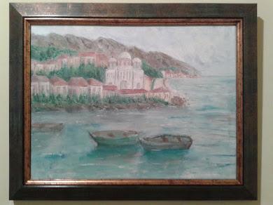 LIHNIDA-50 x 40 cm ulje na platnu-umetnik vladisav art bogićević