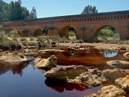 Puente romano de Niebla, capital del Condado de Huelva.