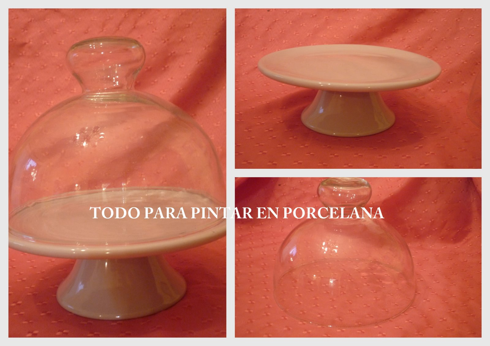 Todo para pintar en porcelana piezas de porcelana y for Ceramicas para piezas