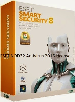 ESET NOD32 Antivirus 2015 License Key Patch Keygen