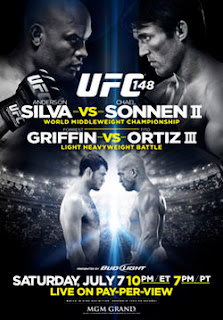 Download  UFC 148: Silva vs. Sonnen II HDTV AVI + RMVB