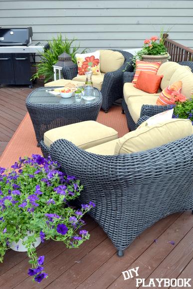 Outdoor Patio Furniture Martha Stewart Living Home Decorators CollectionJan s Outdoor Retreat   DIY Playbook. Martha Stewart Living Patio Furniture Lake Adela. Home Design Ideas