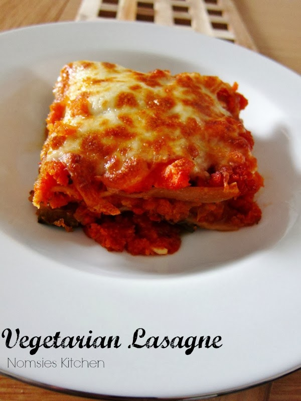 Nomsies Kitchen  | Vegetarian Lasagne