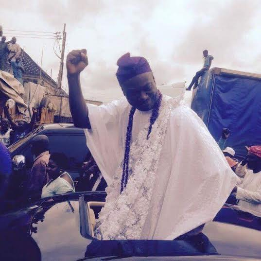 New ooni of ife Prince Adeyeye Enitan Ogunwusi i arrives in Ife