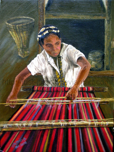 Basket Weaving Of Ifugao : Ifugao banaue rice terraces tapis weaving in