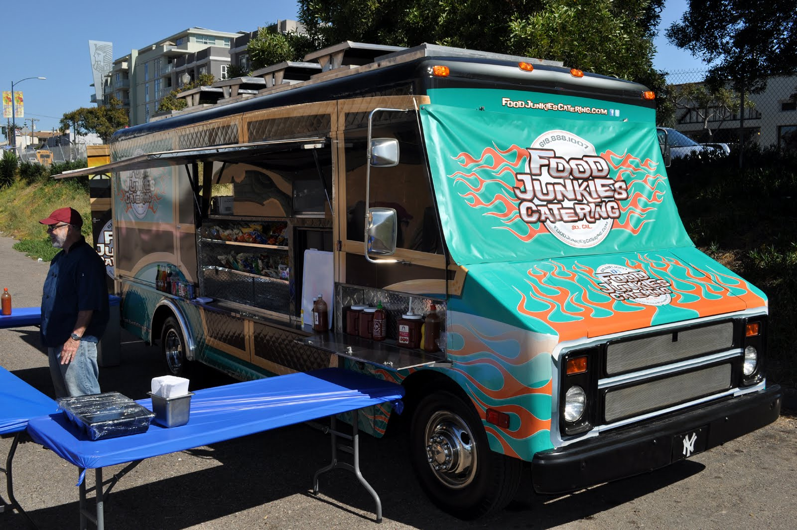 The Gourmet Food Trucks Were Gathered To Add Dining Out For LifeR San Diego