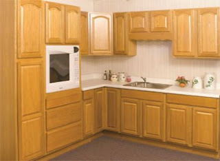light brown kitchen cabinets photo