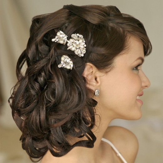 wedding hairstyles for short hair 2011. Best Bridal Hairstyle Ideas