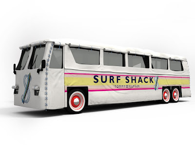 Tommy Hilfiger Surf Shack bus arrives in Chicago